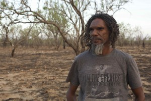 Tom 'Putuparri' Lawford at Fitzroy Crossing.